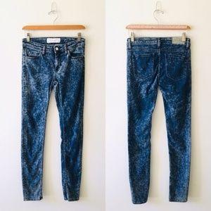 IRO Fannie Skinny Bleach Splatter Jeans Sz 26 EUC